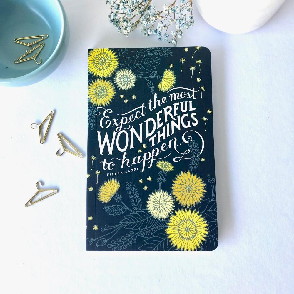Journal - Expect The Most Wonderful Things To Happen
