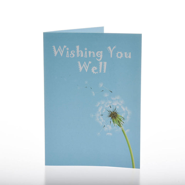 Greeting Card - Wishing You Well