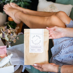 Magnesium Bath & Foot Salts - Unscented
