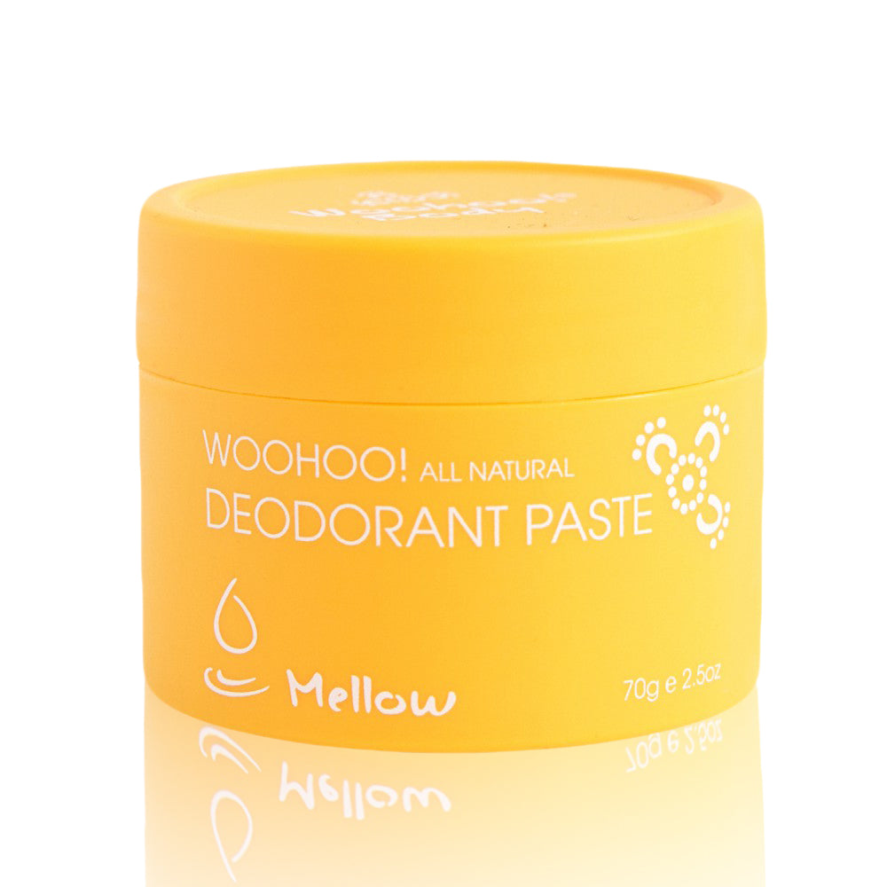 Woohoo All Natural Deodorant Paste  (Mellow)