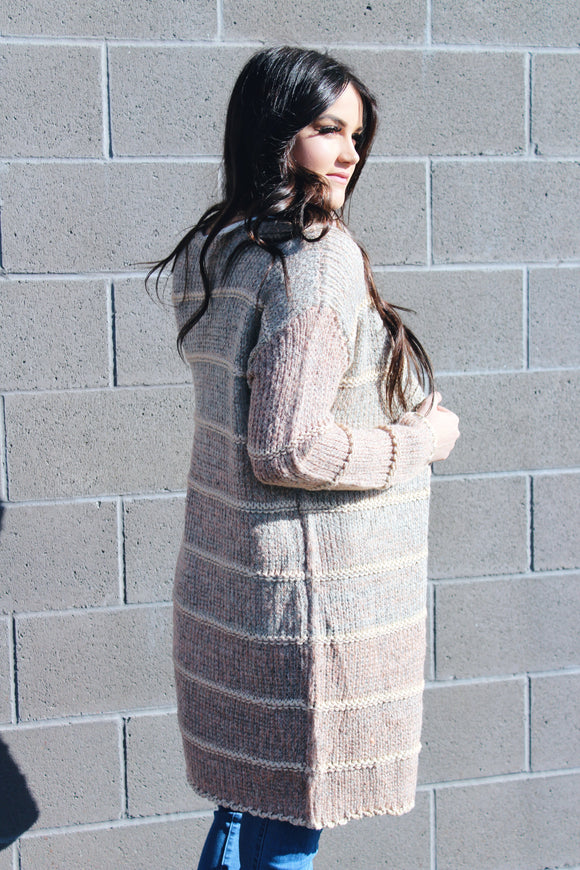 The Ombre Cardigan