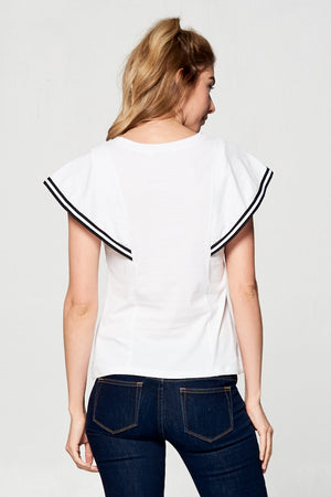 White Sailor Tee
