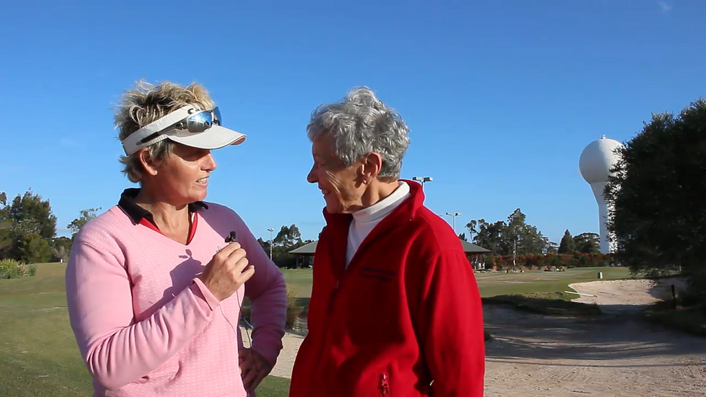 #126 Web TV: How Challenging Is Golf - An Interview With Rhonda Purvis