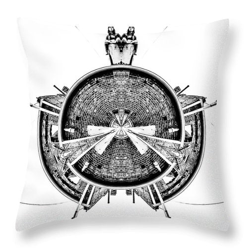 I'm-Late - Throw Pillow