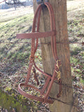 Halter-Combo Headstall Bridle