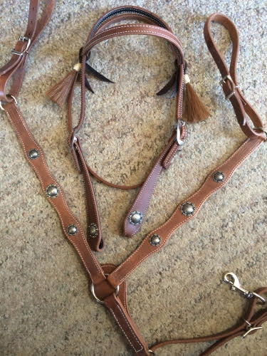 Vintage Bridle Breast Collar Set