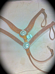 Concho Center Breast Collar