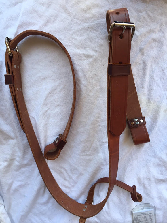Golden Bridle Flank Cinch Set Flank Strap
