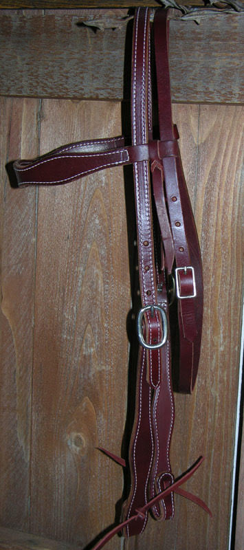 Cowboy Scallop Headstall