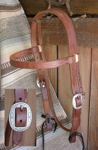 Pro Harness Headstall 3/4