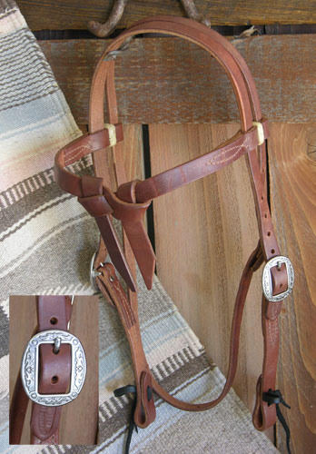 Knotbrow Pro Harness Headstall 3/4