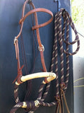 Loping Soft Nose Hackamore Set