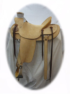 Ray Hunt Wade Saddle