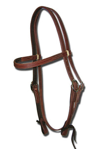 Ultimate Lined & Oiled Harness Headstall