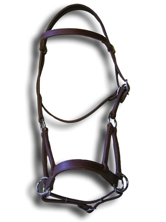 Ultimate Sidepull Leather Headstall