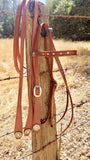 Tear Drop Headstall and Reins