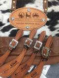 Customized Leather Award Tack