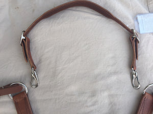 Over the Neck Breast Collar Straps