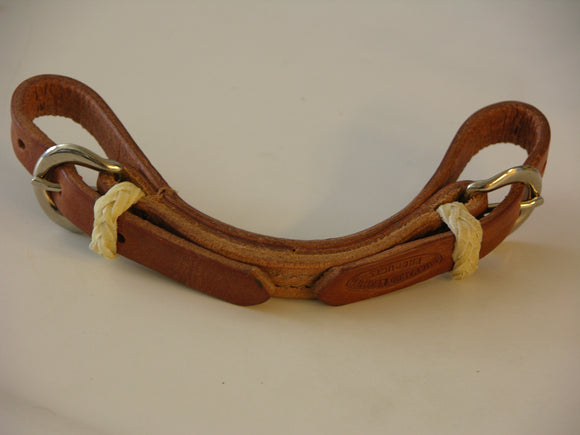 Harness Leather Curb Strap