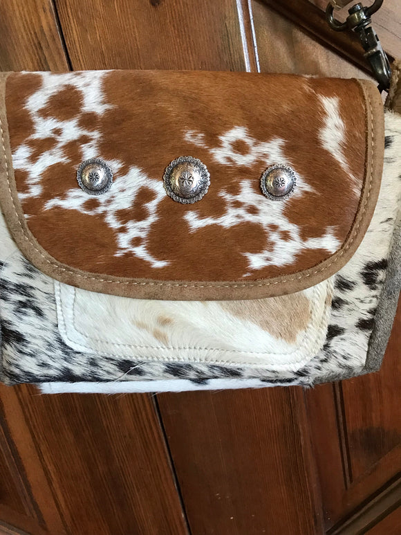 Saddle Bag style Cross Body bag