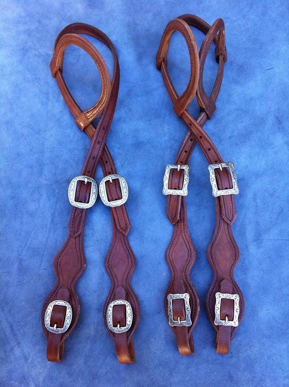 Harness Slide Ear w/Scalloped Cheeks