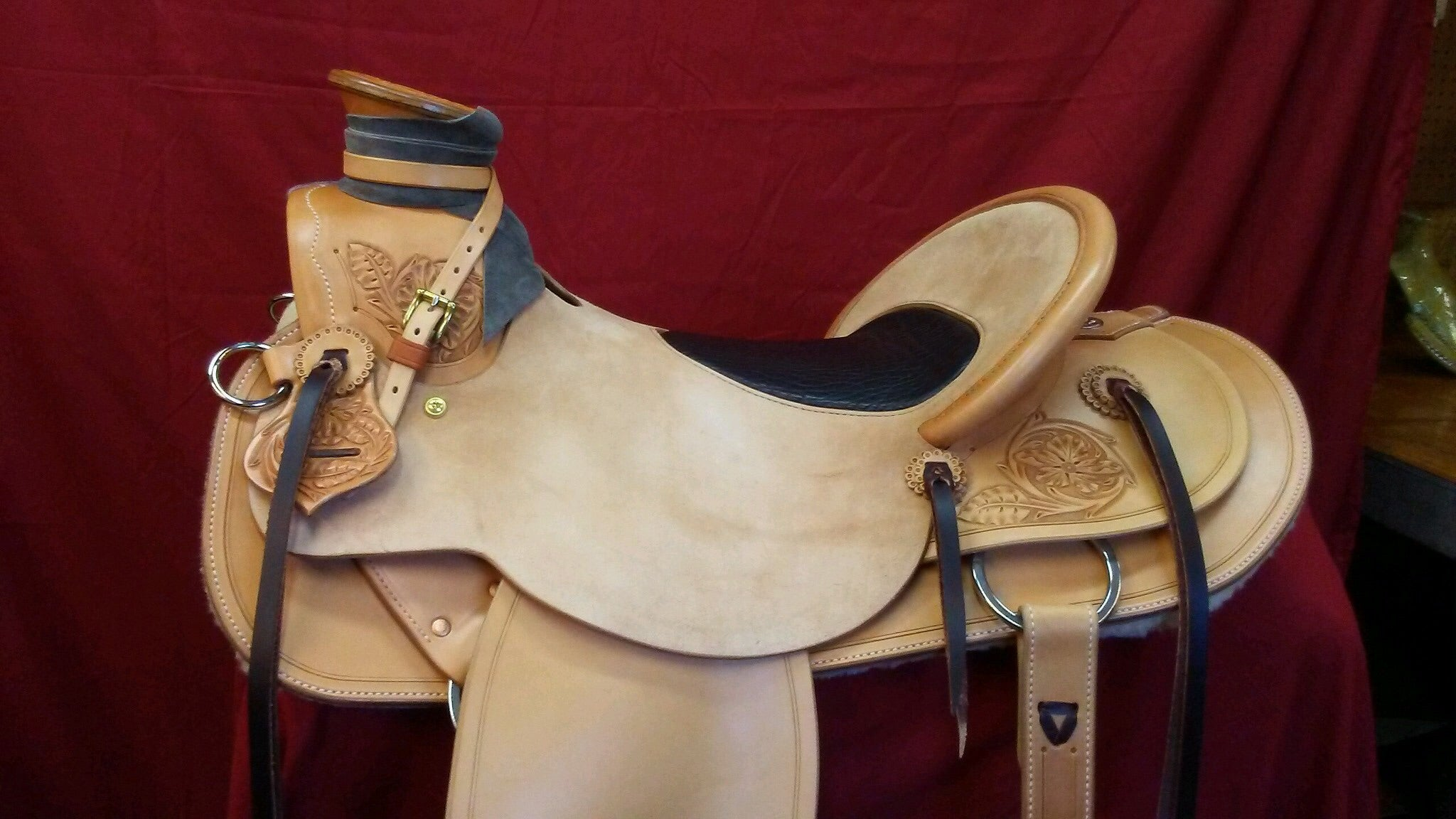 Cliff Wade Buckaroo Ranch Saddle – Buckaroo Leather Products