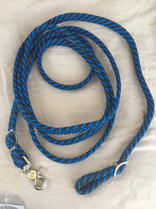 Nylon flat braided loop Rein