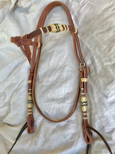 Harness Knotbrow Headstall w/Braiding