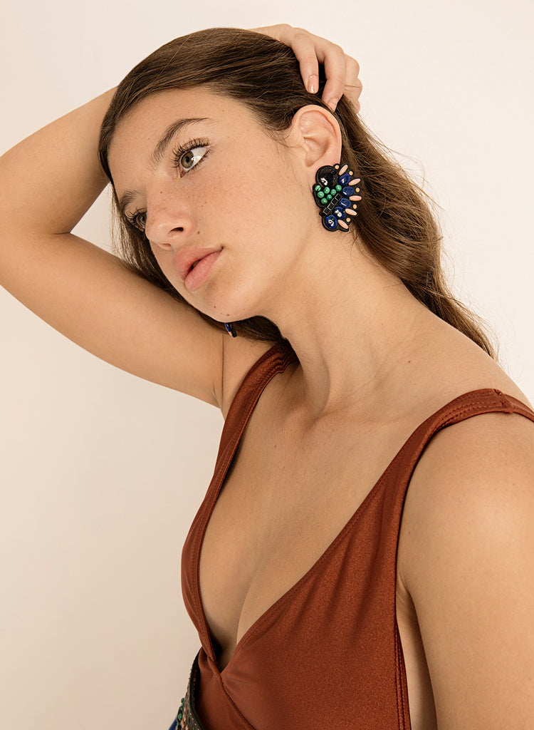 Evolution Clip-on Earring