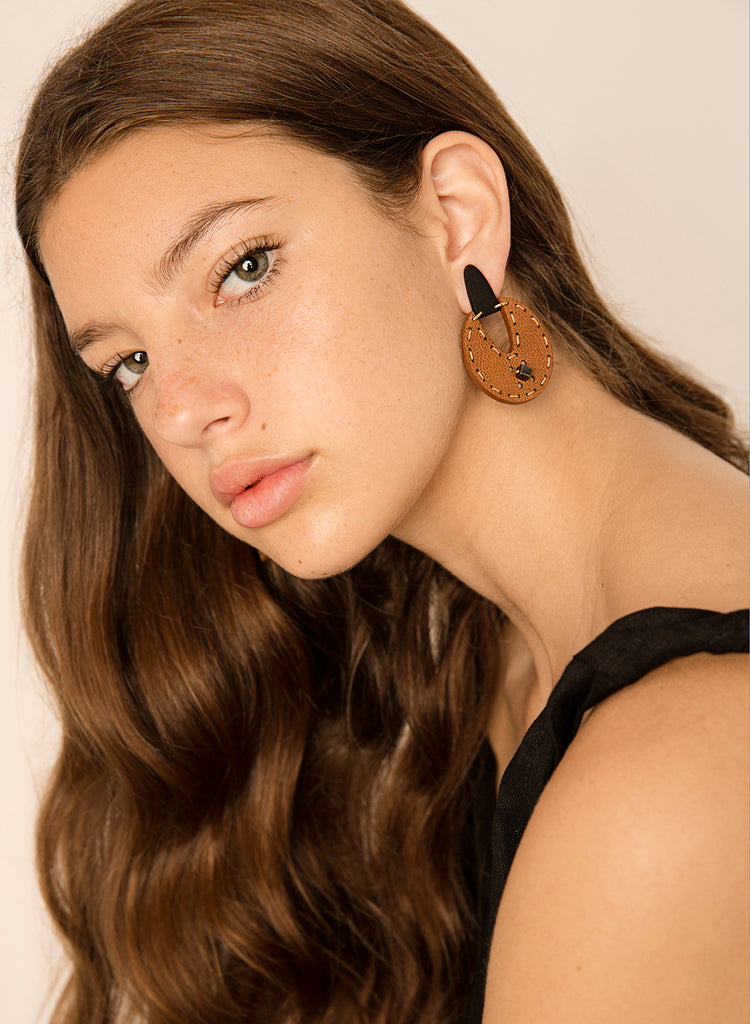 Understory Earring - Tan