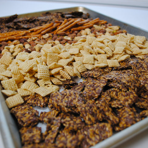 Image of Vegan Gluten Free Party Mix Recipe