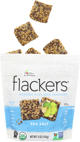 Image of Flackers flaxseed crackers
