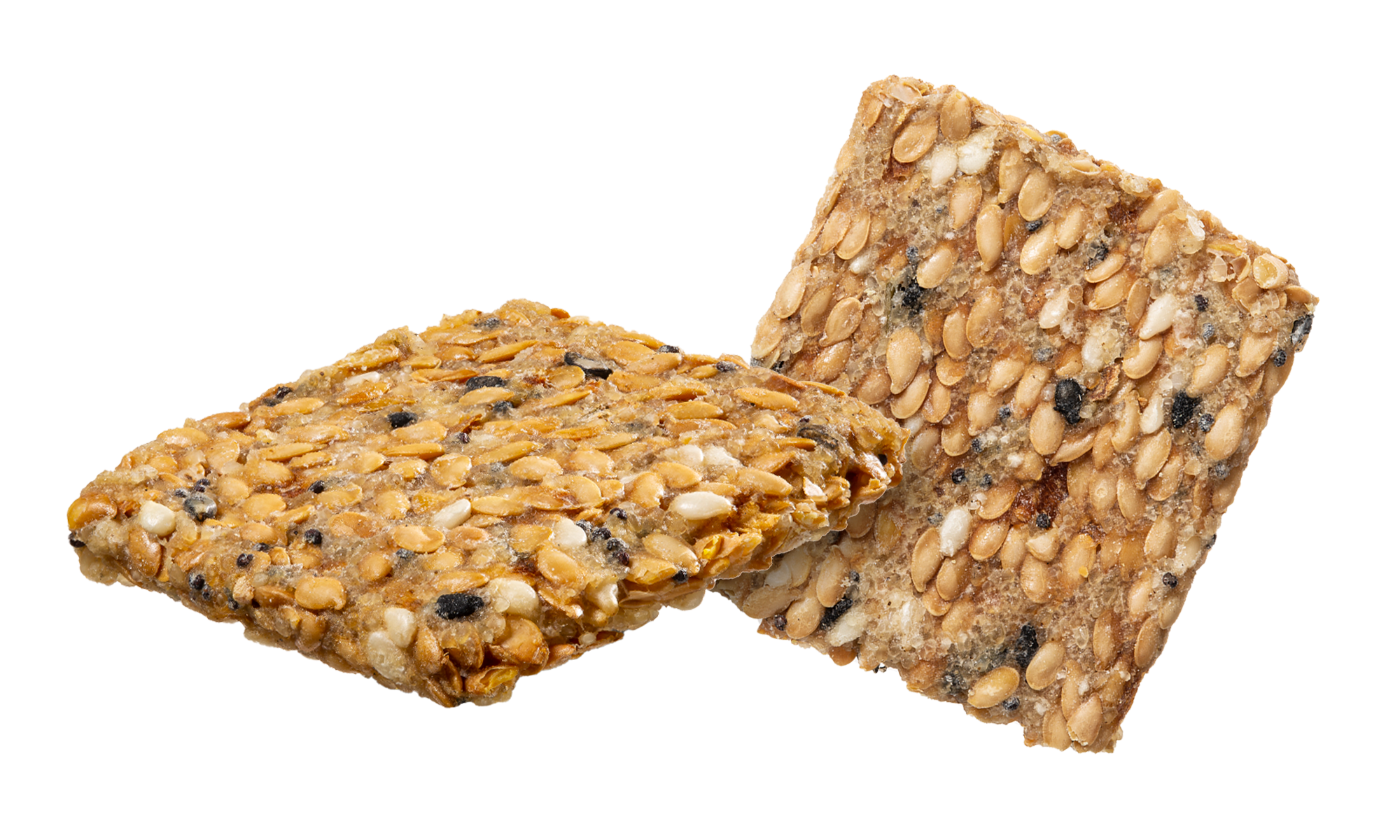 Everything Flax and Fonio crackers