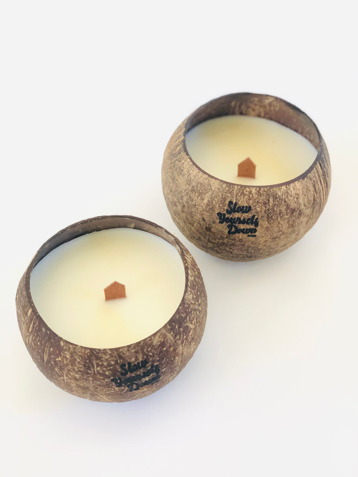 SYD COCONUT BOWL CANDLE