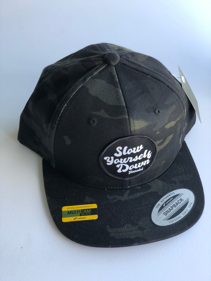 SYD PATCH SNAPBACK HAT