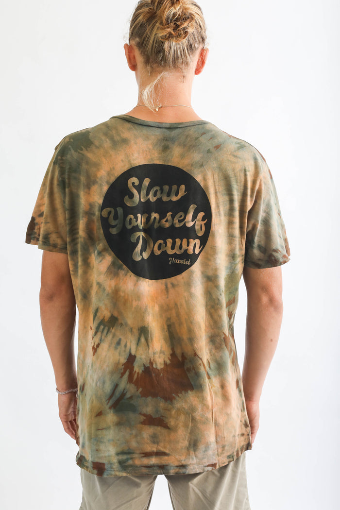 MENS RETRO CIRCLE TIE DYE