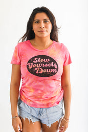SLIM RETRO SYD CIRCLE WOMANS TIE DYE