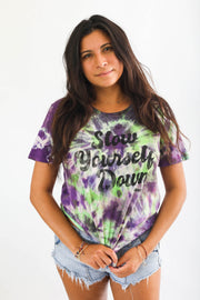 Retro Womans Tie Dye Tee