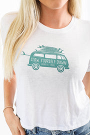 VW Surf Van Crop Tee