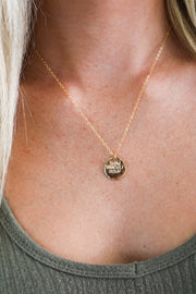 SYD DISK NECKLACE