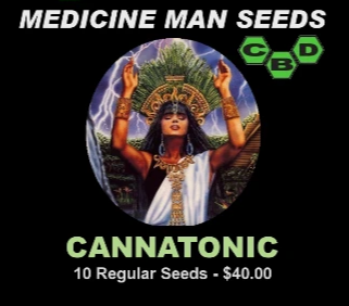 Cannatonic strain seeds