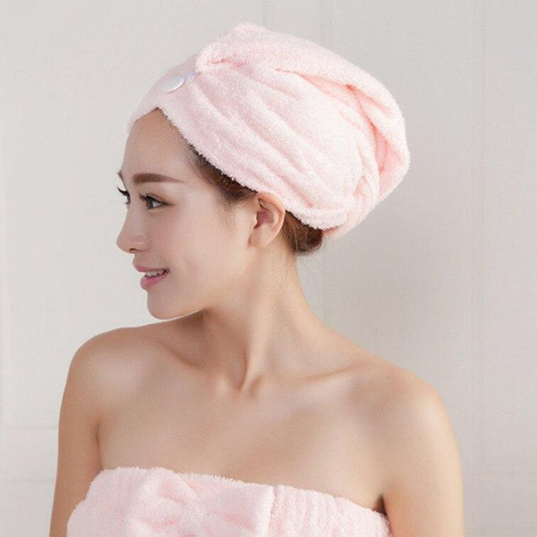 AquaDry™ Instant Hair Drying Towel