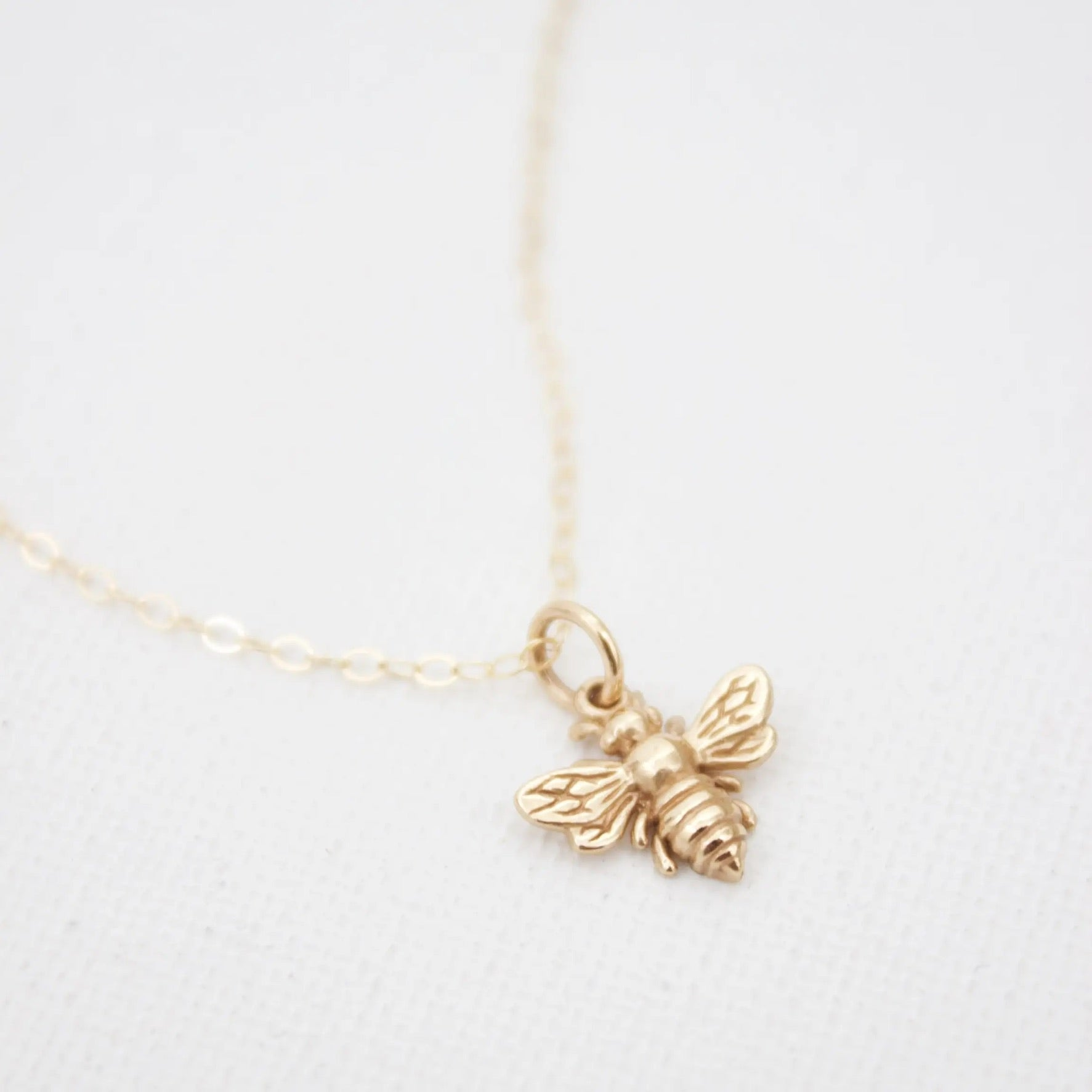 Petite Bee Necklace