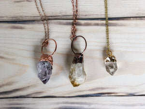 Dainty Gemstone Necklaces