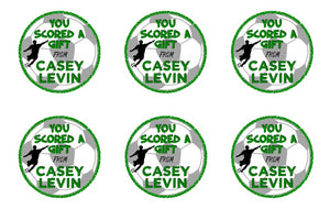 Soccer Gift Stickers