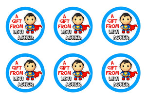 Superman Gift Stickers