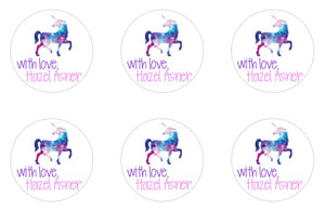 Unicorn Gift Stickers (v1)