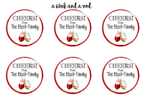 Wine Bottle Stickers (v2)