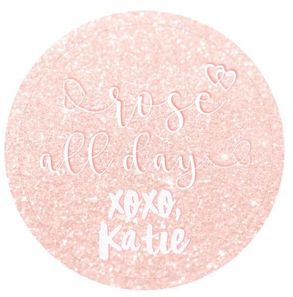 Yes Way, Rosé Wine Bottle Stickers