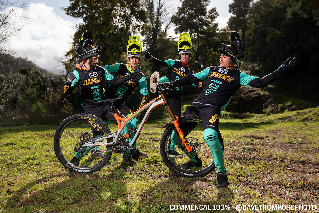 Commencal 100% Factory Racing Team